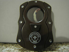 Colibri Grip Guillotine Cigar Cutter Chopper - Montecristo - NEW