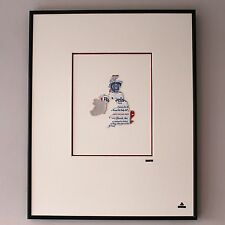Martin Allen Can Art - Budweiser UK Map in Large Alluminium Frame