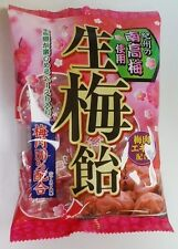 Japanese Food Ribbon Nama Ume Ame Sweet Sour Plum Hard Candy 110g Free Shipping