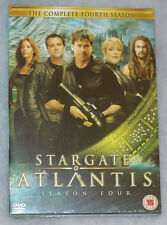 Stargate Atlantis Season 4 Four Complete DVD Box Set UK R2 NEW & SEALED