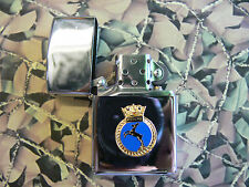 Army Military Regimental Lighter With Royal Navy HMS ACTIVE On Front