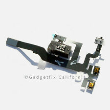 iphone 4S AT&T Verizon Sprint Headphone Audio Jack Power Flex Cable Replacement