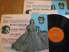 LXT 2992-4 Verdi La Traviata / Tebaldi etc. O/G 3 LP set