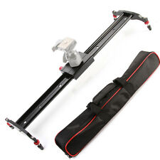 "24"" 60cm Camera Slider Dolly Track Studio Video Stabilizer + Case For DSLR DV DC"
