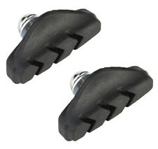 CLARKS CP250 50mm ROAD BIKE CYCLE BRAKE HOLDER INTEGRAL BLOCKS PADS (Pair)