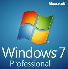 Windows 7 Professional Pro 32/64 bit SP1 DVD with Product key and Drivers DVD
