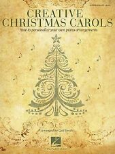 Creative Christmas Carols - How to Personalize Your Own Beautiful Piano Arrangem