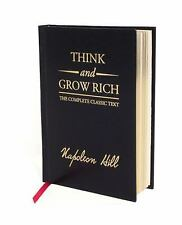 Think and Grow Rich Deluxe Edition by Napoleon Hill (2008, Hardcover, Deluxe)