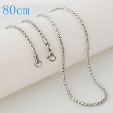 """Snap-It Stainless Steel 30"""" Chain For Snap It Pendants"""