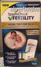 NEW SpermCheck Fertility Home Test for Men Sperm Check Male Expires JUNE 2017