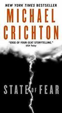 State of Fear by Michael Crichton (2009, Paperback)