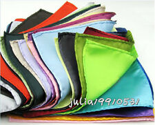 Wholesale lot 14 Color Retro Style Pocket Square Wedding Men's Handkerchief  20