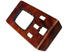 Mercedes 380 SL (83-85) Shift Console BURL Wood NEW center shifting trim panel