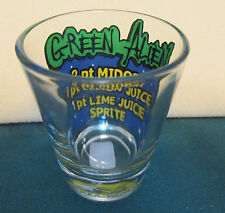 GREEN ALIEN    INGREDIENTS      SHORT SHOT GLASS