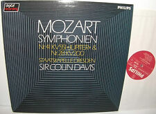 6514 206 Mozart Symphonies 41 & 28 Dresden State Orchestra Sir Colin Davies