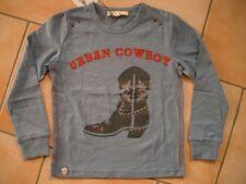 (385) Spirit of Hope Shirt Cowboy Stiefel Druck + Nieten & Stickerei gr.104-110