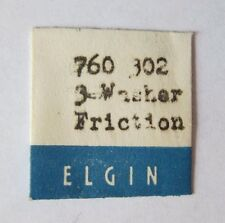 Vintage Elgin 760 Washer Friction watch part #302 NOS