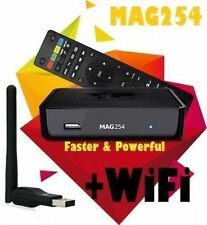 Genuine MAG 254 IPTV Set-Top-Box INFOMIR IPTV TV BOX + Free Wifi Dongle