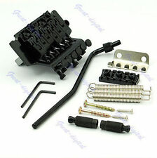Hot Black Floyd Rose Lic Tremolo Bridge Double Locking System NEW