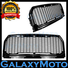 15-16 Ford F150 Black Replacement Raptor Conversion Style Mesh Grille+Shell 2017