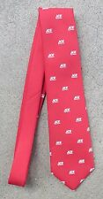 ACE HARDWARE NECKTIE - Red with White Logo, Besley's Inc.