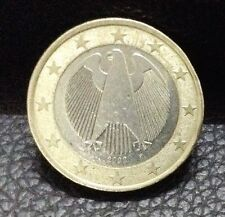 1 EURO Coin 2002 Germany Coat Of Arms German Eagle
