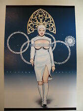"Sochi winter olympic games opening ceremony parady adult poster print 11"" x 17"""