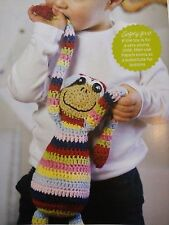 CROCHET PATTERN Cuddle Monkey Striped Toy Animal 48cm Childrens Doll PATTERN