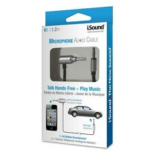 iSound Hands-Free Talk and Play Music Audio Cable for Vehicles