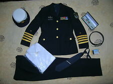 Obsolete 07's series China PLA Navy Woman Officer Uniform,Black,Set,(B)