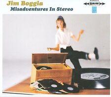 Misadventures in Stereo [Slimline] by Jim Boggia (CD, 2008, Bluhammock Music)