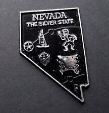 NEVADA SILVER MAGNET US STATE FLEXIBLE MAGNET 2 inches
