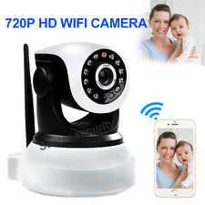 Wireless Pan Tilt 720P Security Network CCTV IP Camera Night Vision WIFI Webcam