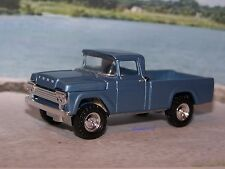 1959 59 FORD F-250 PICKUP TRUCK 4x4 DIECAST MODEL 1/64 SCALE COLLECT - DIORAMA