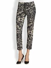 Haute  Hippie Slim Shady Printed Pants skinny sleek knit pants  $265 Size S