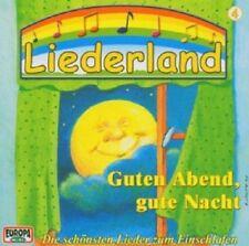 LIEDERLAND 4 - GUTEN ABEND,GUTE NACHT  CD 18 TRACKS KINDER-LIEDER NEW+