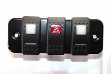 Land Rover Defender - RHD Lower Dash Switch Plate Panel (3 Carling) MTC2640