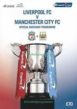 LIVERPOOL v MANCHESTER CITY CAPITAL ONE CUP FINAL (28TH FEB 16) 2015/16
