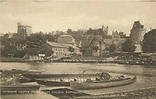 Windsor Castle from Eton College Boathouse - England - Postcard