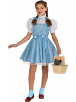 Child Wizard Of Oz Dorothy Outfit Fancy Dress Licensed Costume Book Week Girls