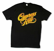 CYPRESS HILL TRI-COLOR LOGO 2012 TOUR BLACK T-SHIRT NEW OFFICIAL BAND ADULT M