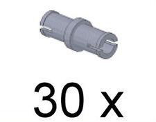 LEGO Technik - 30 x Technik Pin kurz hellgrau / Pins / 3673 NEUWARE