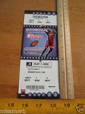 Los Angeles Clippers vs Suns 2003 Basketball ticket front row $400 face