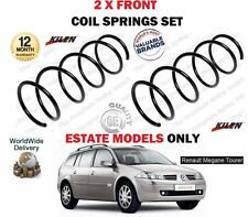 FOR RENAULT MEGANE SPORT TOURER ESTATE 2003-  NEW 2 X FRONT COIL SPRINGS SET