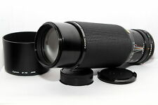 CANON FD 100-300mm f:5.6 Obiettivo ZOOM Reflex A-1 AE-1 AT-1 FT FTb T50 T70 T90|