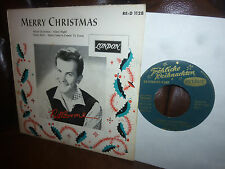 """Pat Boone, Marry Christmas, (Rock'n'Roll) London RE-D 1128 EP 1959 Single, 7"""""""