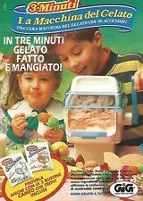 X1518 La Macchina del Gelato - Gig - Pubblicità del 1991 - Vintage advertising