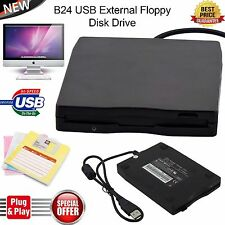 3.5 Inch External Floppy Disk Drive 1.44MB Reader Writer for Win 8 Laptop PC UK