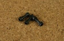 Lego City Ninjago 3 x Pearl Dark Gray Minifig, Weapon Lightsaber Hilt   NEW