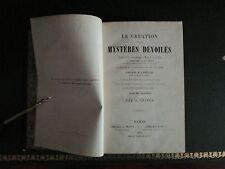 La création et ses mystères dévoilés  A.Snider (1858)